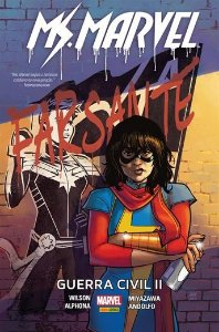 Ms. Marvel: Guerra civil II Capa Dura