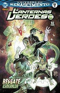 Lanternas Verdes: Renascimento - Edição 18 Resgate Esmeralda
