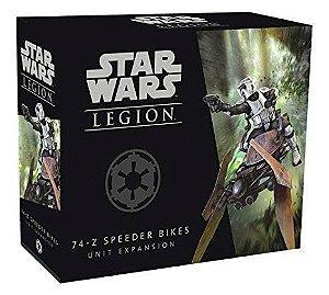 Star Wars Legion - Wave 0 - Speeder Bikes 74-Z - Expansao de Unidade,