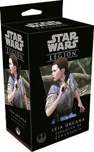Wave 1 - Leia Organa - Expansao de Comandante, Star Wars Legion