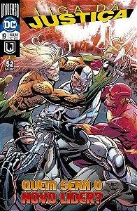 Liga da Justiça: Universo DC - Edição 19 Quem será o novo líder ?