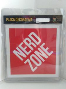 Placa Decorativa Nerd Zone (V2)