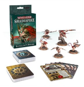 WH UNDERWORLDS: SPITECLAW'S SWARM expansão Shadespire