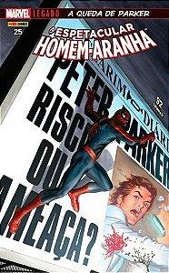 O espetacular Homem-Aranha: Marvel Legado - Edição 25 A queda de Parker