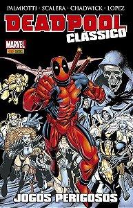 Deadpool Clássico - Edição 10 Jogos Perigosos