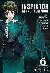 Psycho-Pass - Edição 6 Inspector Akane Tsunemori