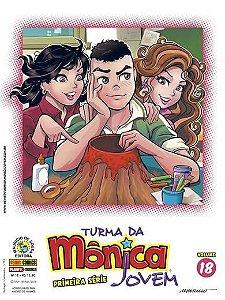 Turma da Mônica Jovem - Volume 18 - Primeira série Edições 41 e 42