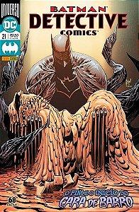 Detective Comics: Universo DC - Edição 21 O fim e o inicio do cara de barro