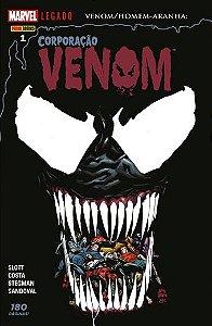 Corporação Venom - Edição 1 Marvel Legado: Venom/Homem-Aranha