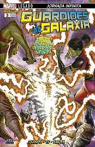 Guardiões da Galáxia: Prelúdio para contagem regressiva infinita - Edição 3 Legado: Jornada Infinita