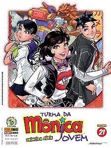 Turma da Mônica Jovem - Volume 21 - Primeira Série Edições 47 e 48