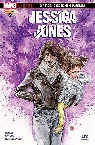 Jessica Jones - Edição 3 Marvel Legado: O Retorno do Homem Púrpura
