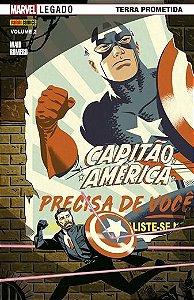Capitão América - Volume 2 Marvel Legado: Terra Prometida