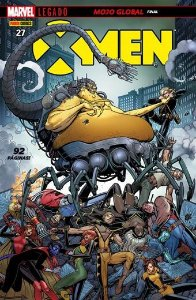 X-Men - Edição 27 Marvel Legado: Mojo Global - Final