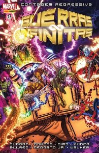 Guerras Infinitas - Volume 1 Contagem regressiva