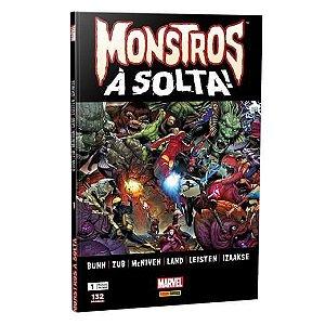 Monstros à solta! - Edição 1 Capa Cartão