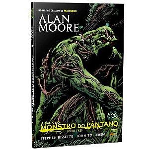 A Saga do Monstro do Pântano Livro Três