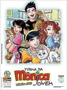Turma da Mônica Jovem - Volume 24 - Primeira Série Edições 53 e 54