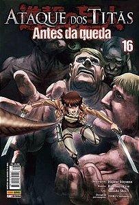 Ataque dos Titãs - Edição 16 Antes da Queda