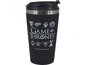 Copo de Alumínio com Tampa Game of Thrones