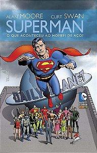 Superman - O Que Aconteceu Ao Homem de Aço? Capa Dura