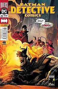 Detective Comics: Universo DC - 28 Olha só, Batman ... Somos Gêmeos!