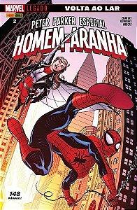 Homem-Aranha: Peter Parker Especial - 2 Marvel Legado: Volta ao Lar R$23,90