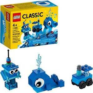 LEGO Classic - Pecas Azuis Criativas