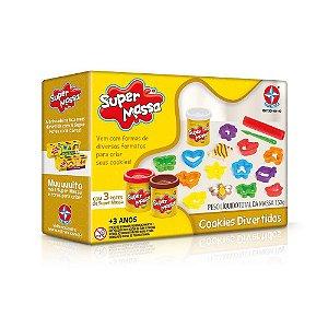 Super Massa Cookies Divertidos - Estrela