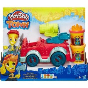Play-Doh Town Carro De Bombeiro / B3416