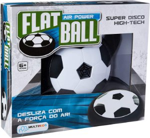 Flat Ball Air Power BR371 Multikids Preto/Branco
