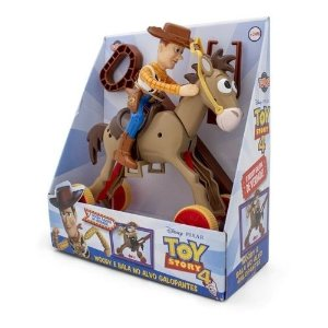 Woody Com Bala No Alvo Disney-pixar Multicor