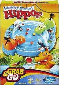 Hipopótamos Comilões Grab & Go B1001 - Hasbro Original