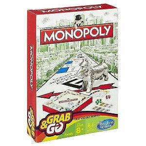Monopoly Grab & Go Verde/Vermelho
