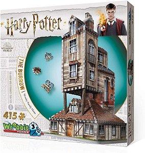Harry Potter: A Toca - Casa Da Família Weasley Galápagos Jogos