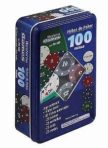 Fichas de Poker, Western, Colorido
