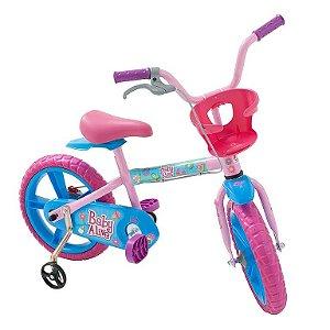 Bicicleta Aro 14 Baby Alive - Bandeirante