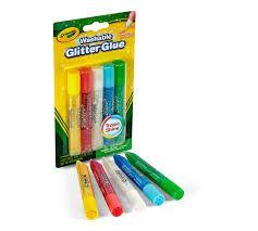 Cola Glitter Bastão Super Brilho 5 Cores Crayola