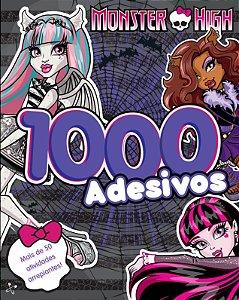 1000 Adesivos - Volume 1. Coleção Monster High (Português) Acabamento especial
