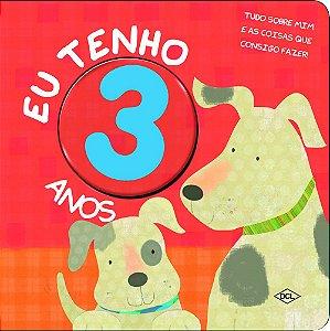 Livrinho dos Números. Eu Tenho 3 Anos (Português) Capa dura