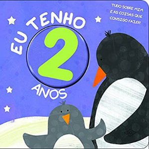 Livrinho dos Números. Eu Tenho 2 Anos (Português) Capa dura
