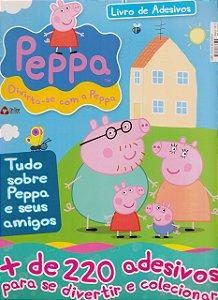 Peppa Pig. Livro de Adesivos (Português) Capa comum