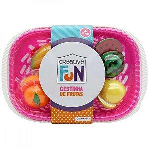 Creative Fun Cestinhas de 6 Frutas Indicado para +3 Anos Multikids - BR1114