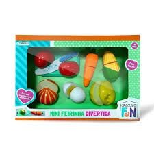 Feirinha Divertida Mini Legumes Creative Fun Multikids BR1109 - Multilaser