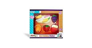 Frutas de Brinquedo Com Velcro Para Cortar Multikids Br1111
