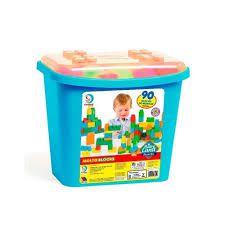 Blocos de Montar, Blocks Box, Cardoso Toys, Menino, 90 peças