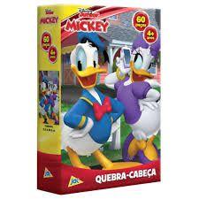 Quebra-cabeça Mickey 60 peças Toyster