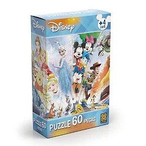 Quebra-cabeça 60 Peças Disney, Grow
