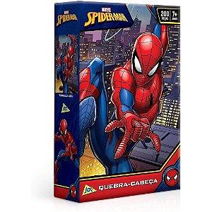 Quebra-Cabeça Cartonado Spider-Man 200 Peças
