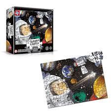 Quebra-Cabeças Sistema Solar 200 Peças Brinquedos Estrela